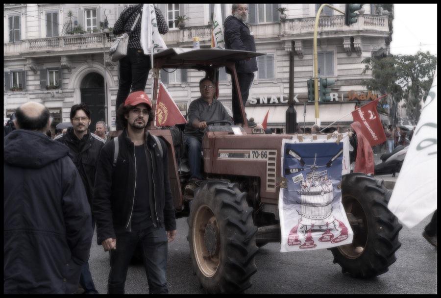 Roma, 16 ottobre 2010: corteo