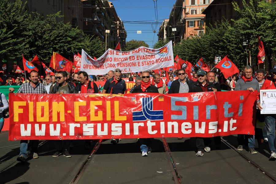 Roma 2014 - Manifestazione CGIL 25 ottobre 2014