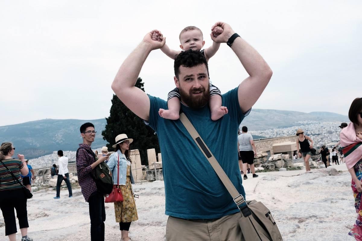 Atene - Acropoli alla come me Parr (2017)