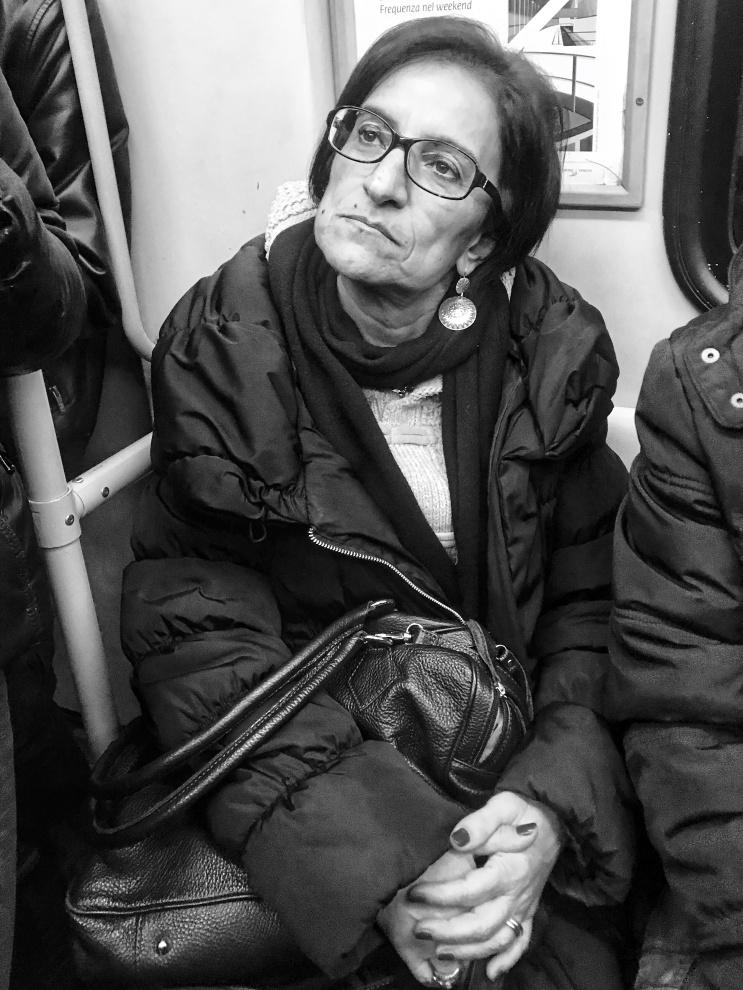 Milano: ritratti in Metro (2019)